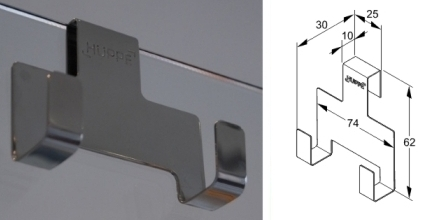 h ppe wischerhaken reinigung mit komfort hueppe. Black Bedroom Furniture Sets. Home Design Ideas